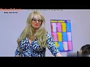 Slutty Schoolgirl Sucks Him off in Class | visit MeetNewGF.Com