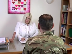 AgedLovE Sexologist Helping Former Soldier Hard