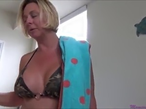 Mom's Sunburn Incident - Brianna Beach - Mom Comes First - Preview