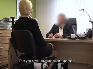 LOAN4K. Real estate agent should sell her vagina to get paid