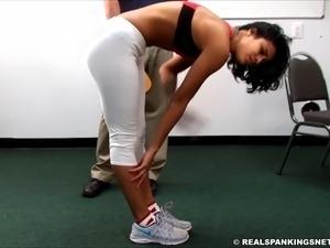 Cleo&#39s 2nd hard paddling on Yoga pants