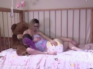 Diaper Messing While Breastfeeding