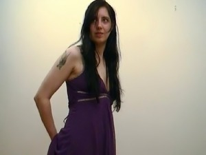 Heather sitting after belting
