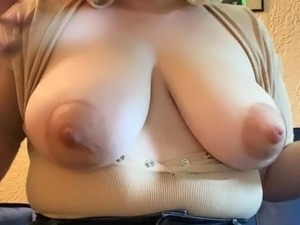 Blonde Busty Slave Getting Nipples Sucked Fucked