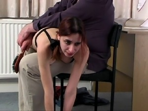 Student spanked