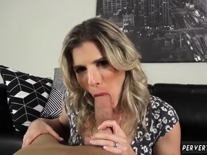 Milf cum challenge and creamy first time Cory Chase in