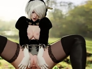 Game Naked Characters Wants an Ass Fucking Sex Collection