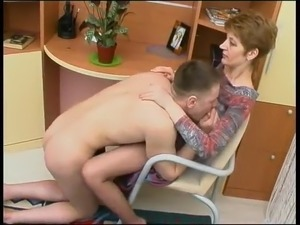 Russian Mom Fucked Doggy