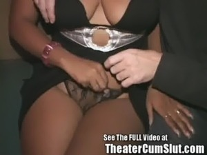 Ebony Freak Has Public Porn Theater Group Sex In Tampa free