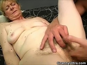 We have this naughty granny on this clip as we see her sucking on the cock of...