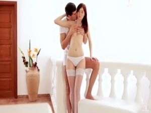 Nubile Films - Passionate fuck with redhead sex kitten free