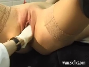 Slave girl fist fucked by her master free