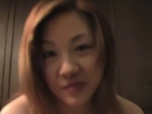 Knocked up asian babe gets her facial