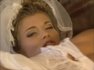 Rita Faltoyano Wedding Threesome