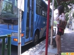 Public japan blow job and creampie with Chinatsu free