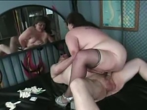 Dirty Mature BBW Fucks Fat Guy