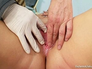 Fetish Big tits Alexa Bold very kinky gyno speculum exam by old experienced...