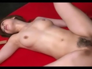 Hairy Asian Rough Fuck Creampie