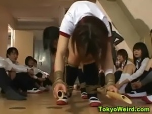 Cute asian teens fuck and bondage action free