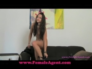 FemaleAgent Pleasuring an agent free