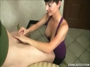 Naughty Nurse Jerks A Big Dick free