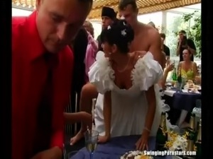 Whores suck and fuck at a wedding free