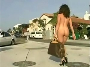 Alex Arden nude in public