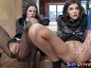 Fetish wam hoes in pantyhose suck