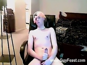 Hot gay sex With the bleach blond hair and cute pink briefs, one