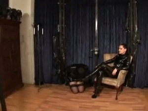 Mistress Silvia and her Sissymaid