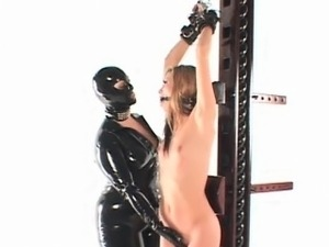 BDSM femdom and hardcore pussy pumping