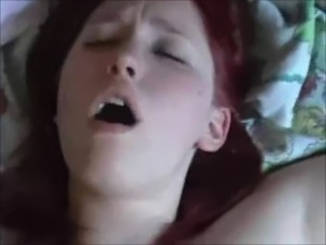 Big boobed redhead creampied on real homemade free