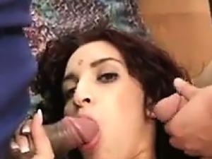Indian Slut In A Threeway