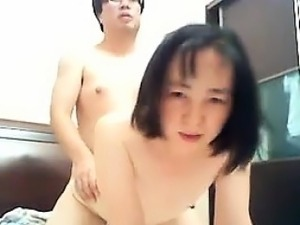 Ugly Japanese Couple Fuck Doggystyle