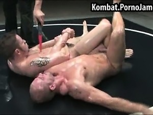 Guys fuck after wrestling