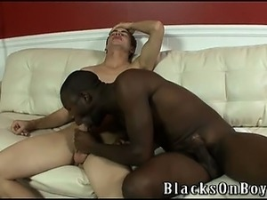 Hot, black stud, Intrigue is at the gym and finds himself a