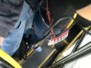 encoxada de calca jeans