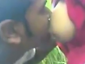 Young Indian Girl Giving A Blowjob
