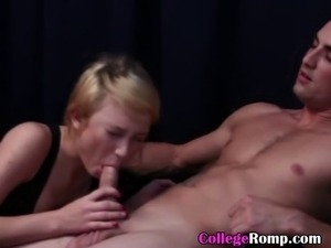 Skinny And Hot College Ex Girlfriend Sucking Dick POV