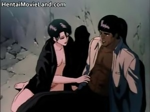 Horny anime babes getting pounded  part3