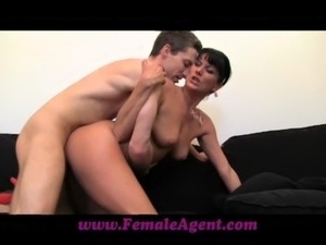 FemaleAgent MILF agents done doggystyle free