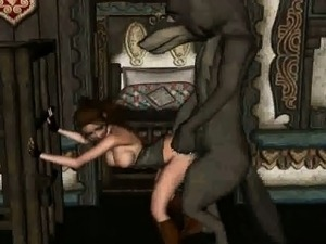 3D Red Riding Hood gets fucked by the Big Bad Wolf