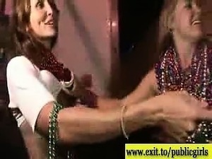Public Party Scenes with boozed mums and teens