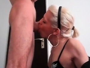 Sexy shemale blowjob