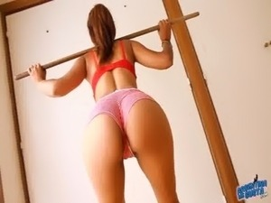 What an EPIC ASS! This Latin Babe Has it All! Super Hot! free