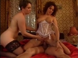 HOT MOM n133 2 brunette german mature milf with a man