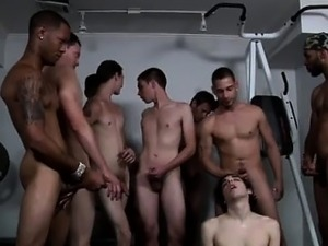Amazing gay scene Chris fulfills his sans a condom fantasies