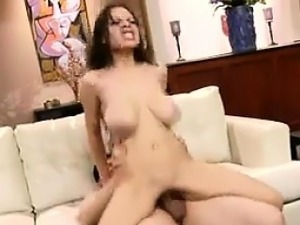 Busty Latin Beauty On That Dick