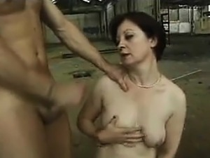 Granny Anal Fucked In An Abandoned Warehouse