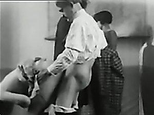 Retro school porn